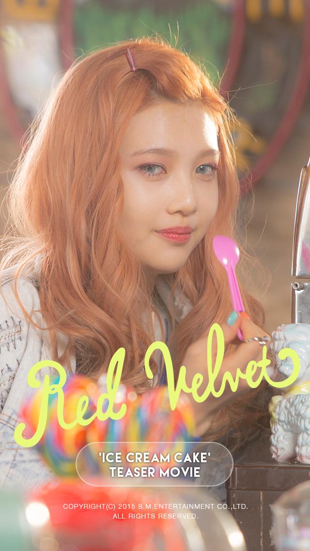 Red Velvet Joy Ice Cream Cake