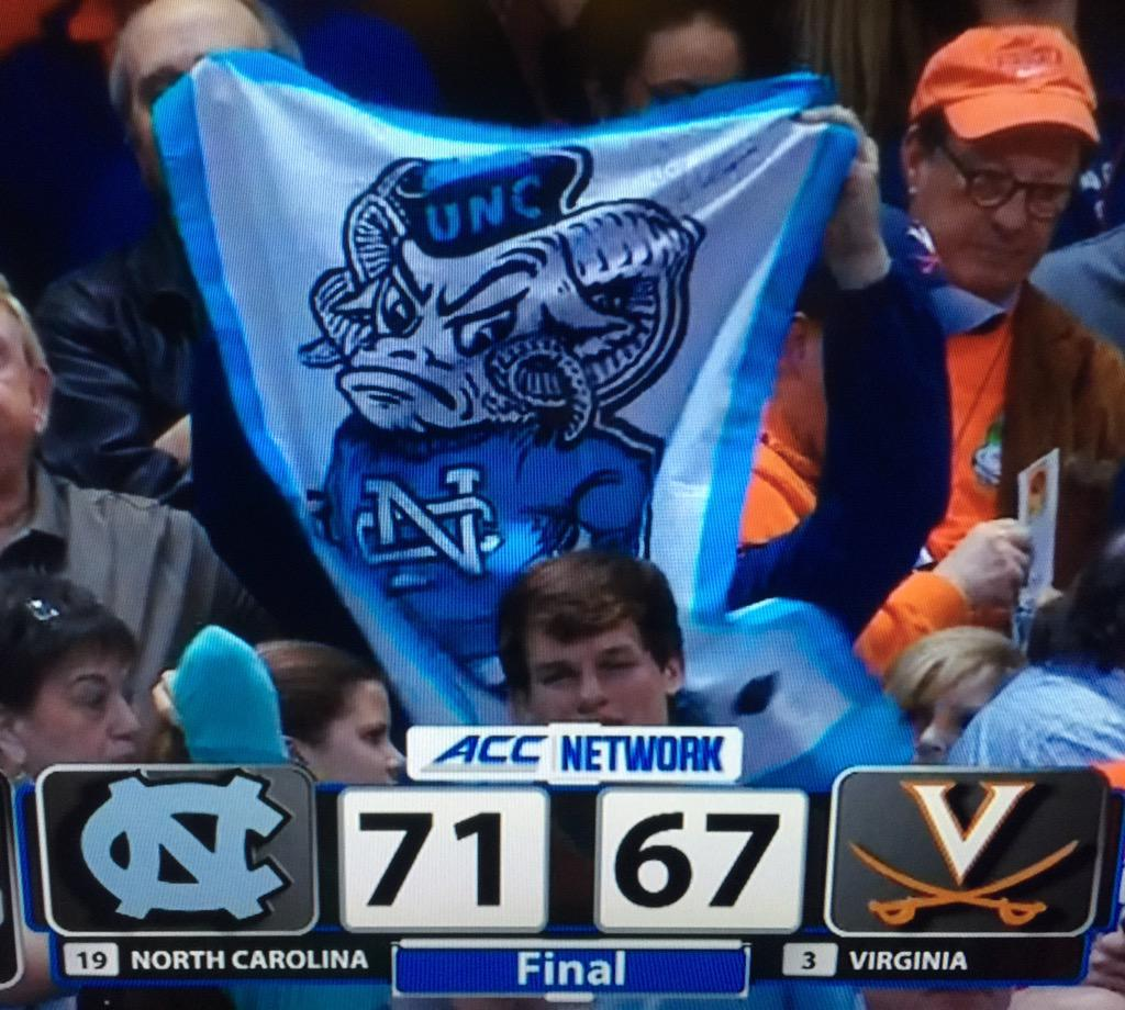 I love March. #UNCvsUVA #MarchMadness http://t.co/siyO1EVVbp