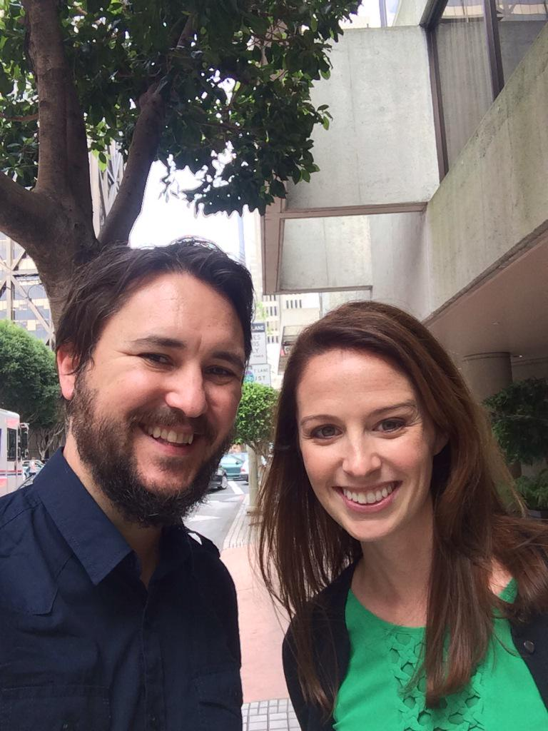 Kathryn with the legendary @wilw. I hear you're a pretty cool dude. http://t.co/K1J0qcaNw2