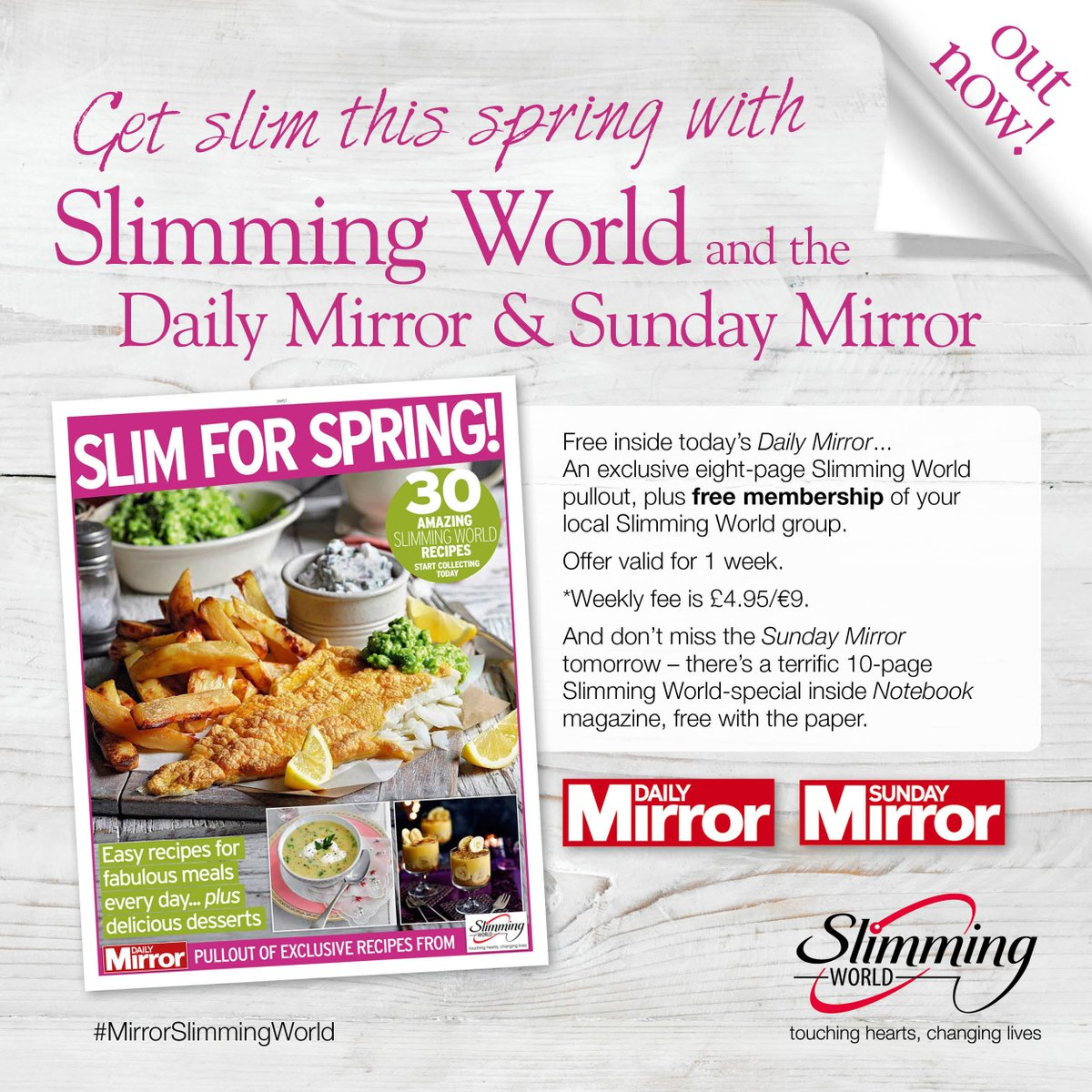 Slimming world on twitter pick up today 39 s dailymirror Slimming world my account