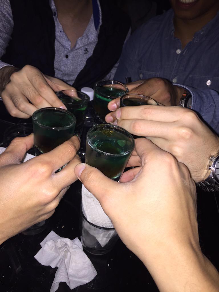 ' @IsaiNissef @AleRayado Cheers muthafuckas! http://t.co/bI4SvttNGm