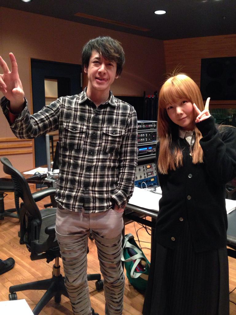 aikoさんのレコーディングに参加しました! http://t.co/dMpfz8OMXZ