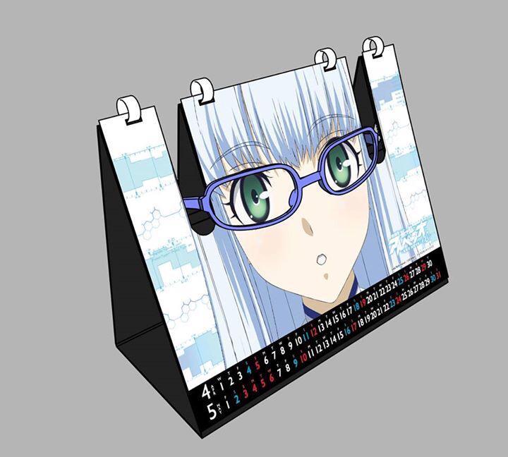 サンジゲンさんがアニメジャパンで発売するメガネスタンドカレンダーすげぇ!天才か! https://t.co/1cNhpsWDTl http://t.co/1ylKZud6JU