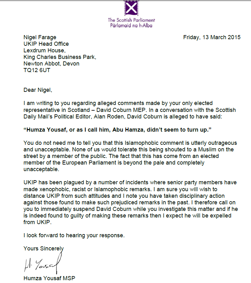Alan roden alanroden twitter influencer analysis klear humza yousafs letter to nigel farage following coburns comments to the mail httptrn04mdhqne stopboris Choice Image