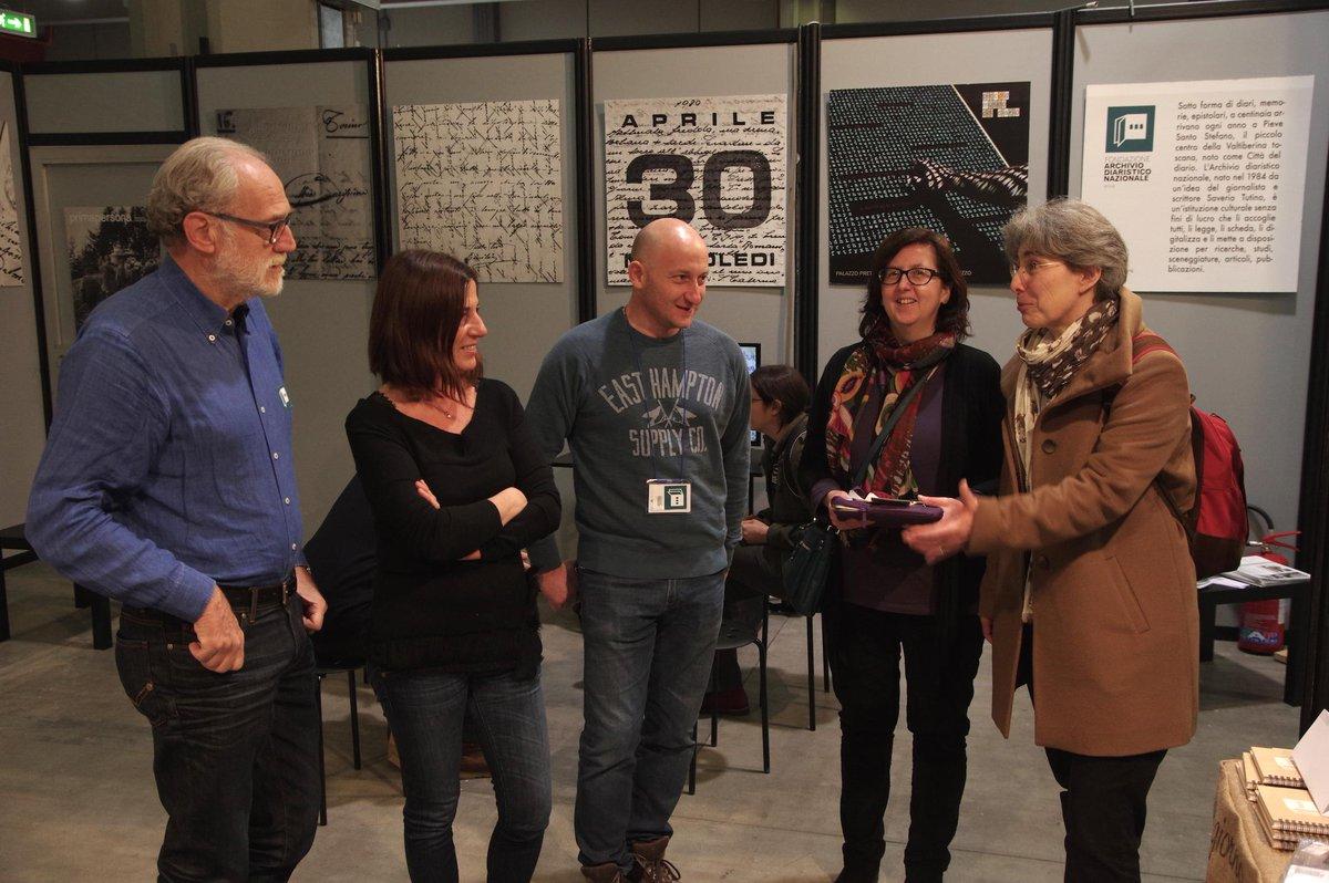 Thumbnail for L'Archivio dei diari a Fa' la cosa giusta con il Lenzuolo - Milano 13/15 marzo 2015
