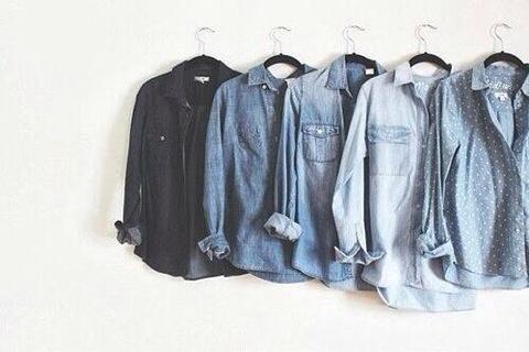 이번 봄에는 청 셔츠 컬러를 단계별로 다 사다두고 싶네. 청셔츠가 급급 좋아지고 있음. http://t.co/M1dK7IlJRC