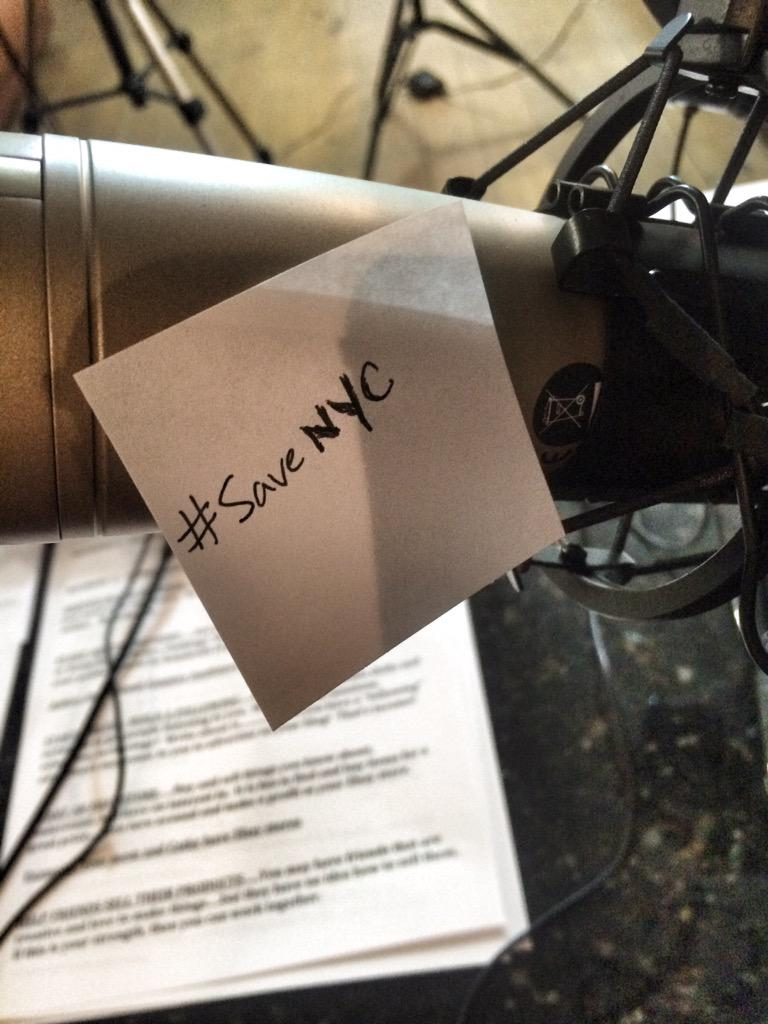 Chatting about this new #SaveNYC campaign we heard about on @biztalkradio this am. Send us your comments! http://t.co/aIl2QRJUpn