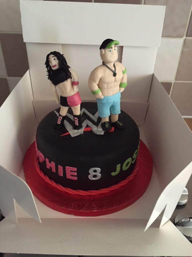 Bella Twins Birthday Cake