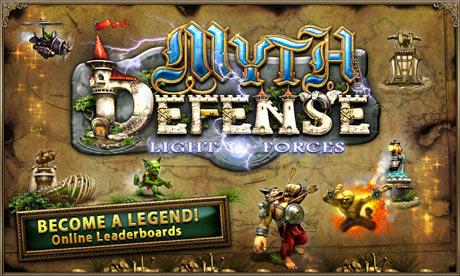 Myth defense android скачать