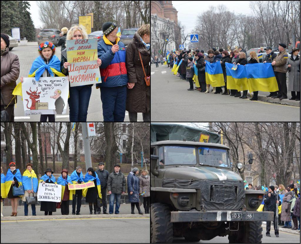 Террористы угрожают наступлением на позиции украинских воинов с целью посеять панику среди населения, - спикер АТО - Цензор.НЕТ 1748