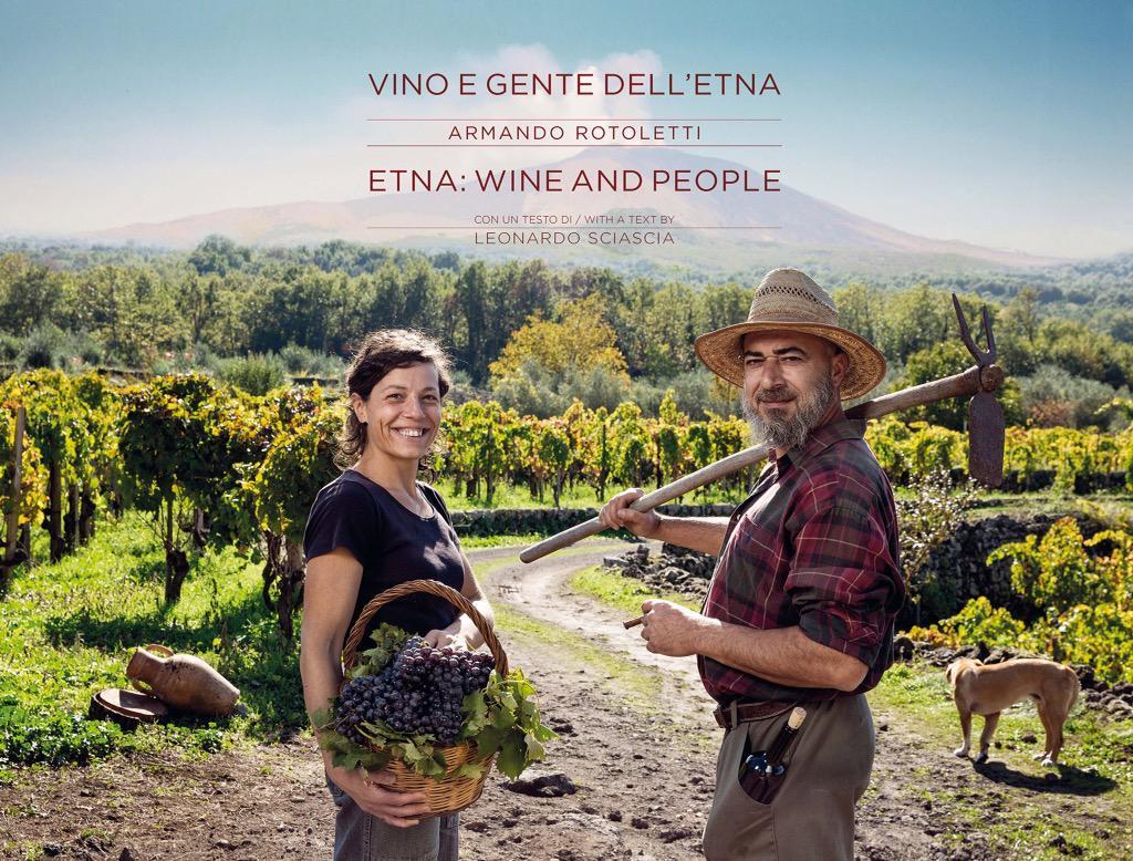 "Photographer @arotoletti launches his book ""Etna Wine and People"" #Vinitaly 23/03 3pm @VinitalyTasting #sicilianwine"