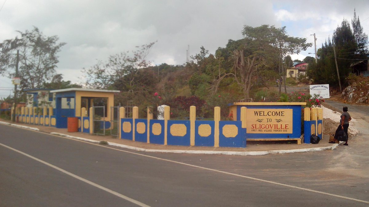 Image result for Sligoville first free village Jamaica