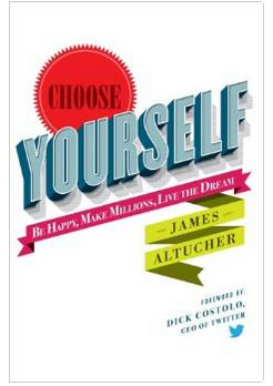 You're nuts not to read Choose Yourself! by @jaltucher. It's $0.86 on Amazon! http://t.co/QcYWyvsLab http://t.co/X9wk7pVvLf