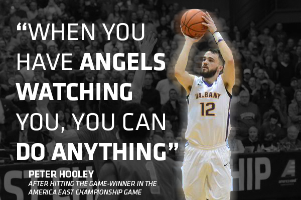 .@PeterHooley12 after hitting the game-winning shot in the #AEPlayoffs title game http://t.co/8tzXTNxGOI