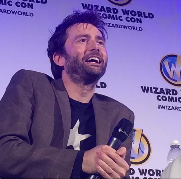 David Tennant at Wizard World Comic Con