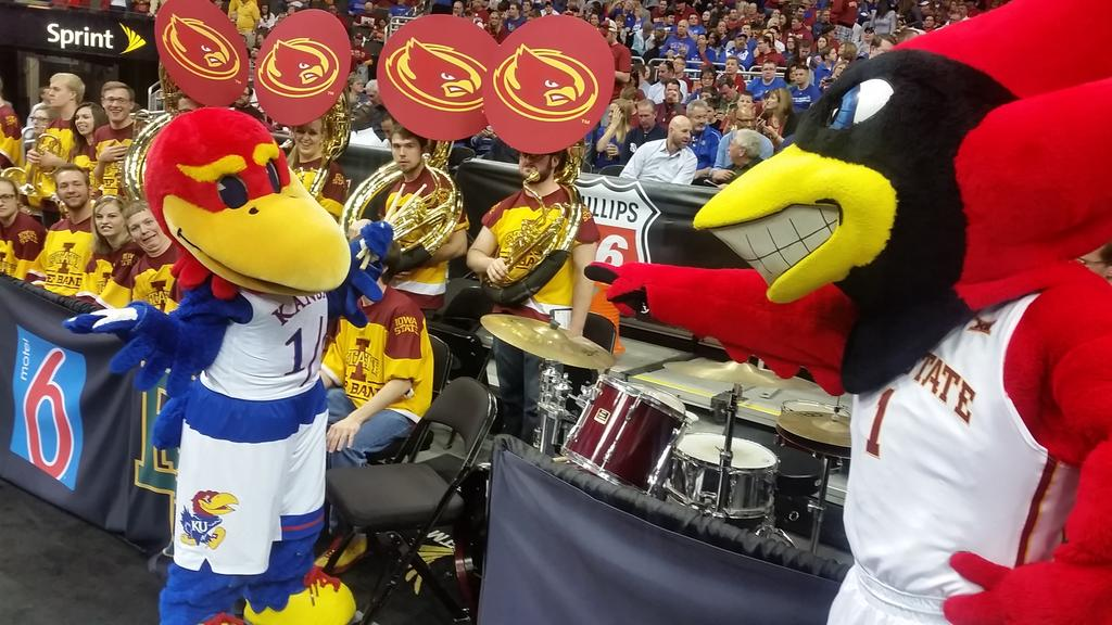 Big 12 Conference On Twitter Did You Touch My Drum Set