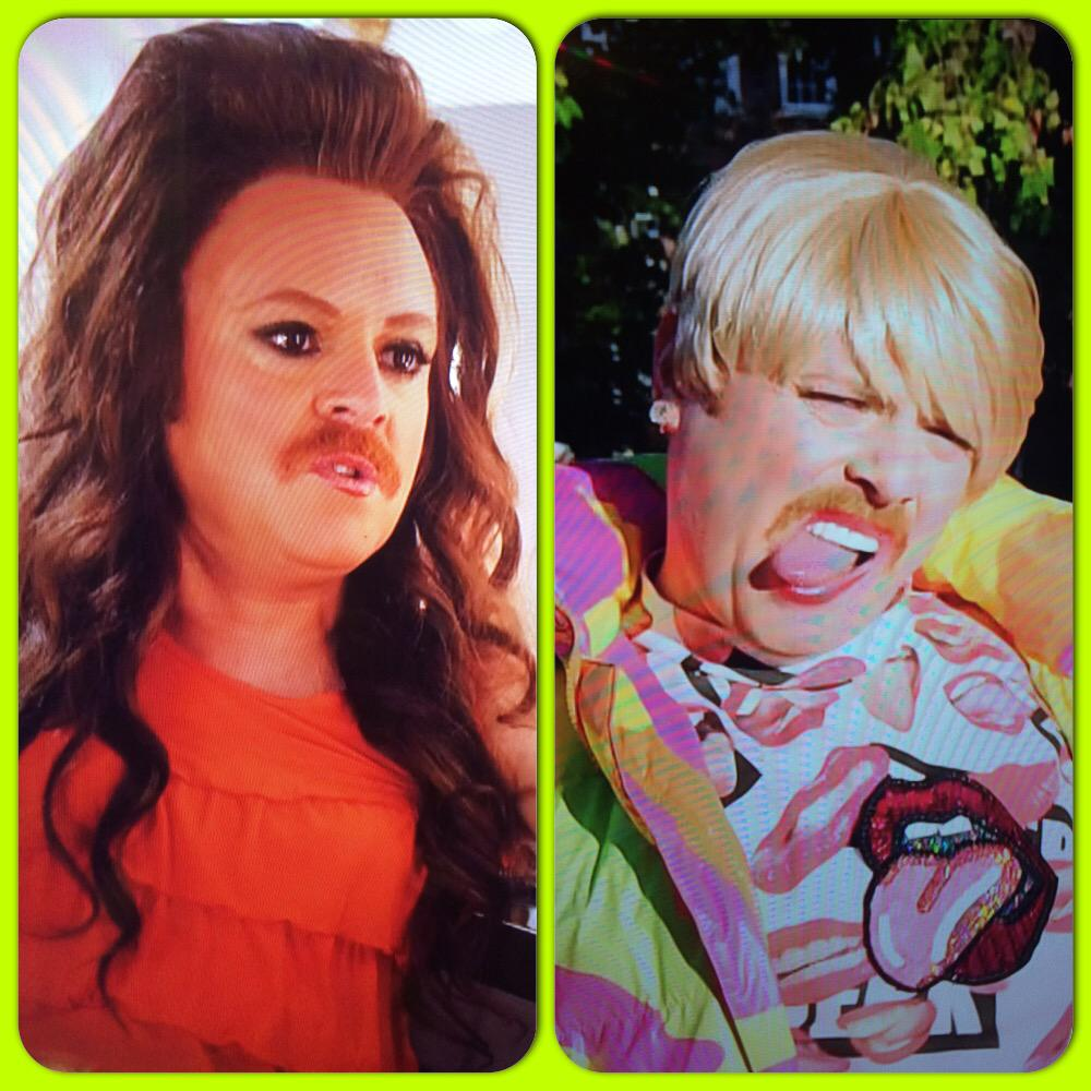 RT @flemingdavy: My 2 faves from #KeithLemonSketchShow! @MileyCyrus @CherylOfficial @lemontwittor @CelebJuice Mileys expressions man😂😂 http…