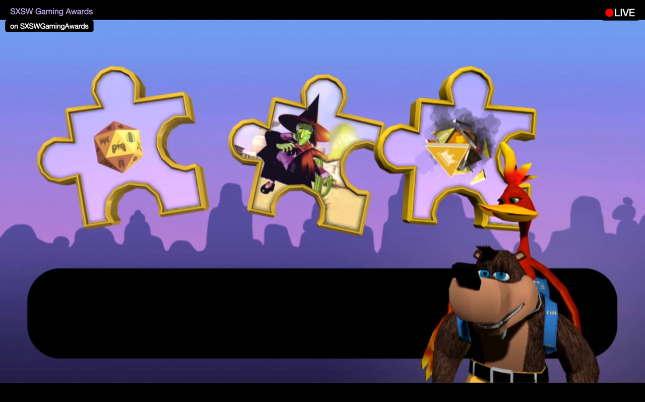 rare shows off new banjo kazooie game with kinect controls
