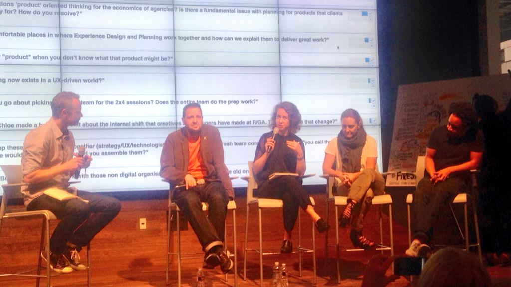 Planning teams are evolving: the panel cite comms planners & experience strategists as the future #firestarters #SXSW http://t.co/NFum6hTcQh