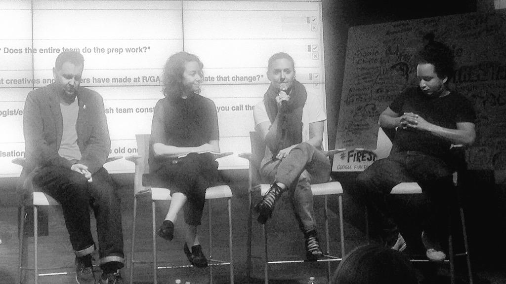 The ladies are totally owning the #firestarters panel @Google today! Hugely inspired by @chloalo @ooonie #womenintech http://t.co/aJJhWxSvt4