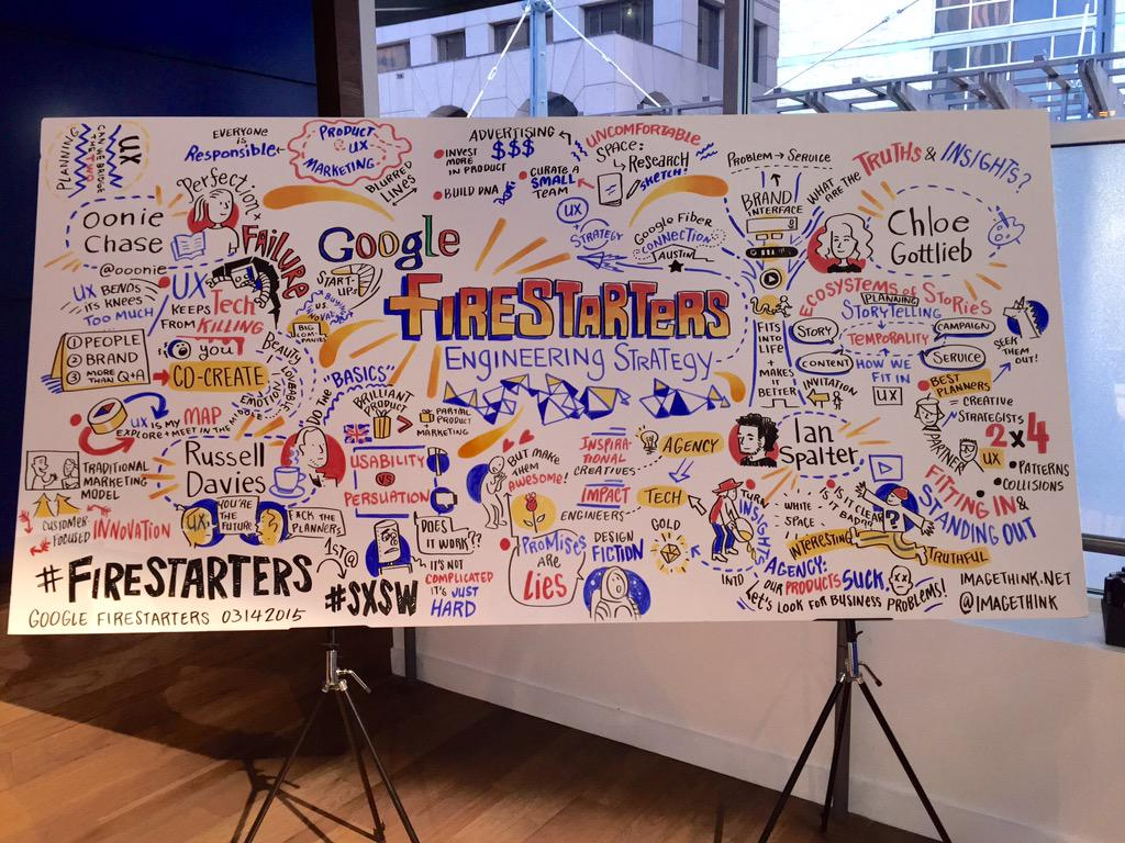 Thank you Google for another great #firestarters!! #graphicrecording #visualnotes http://t.co/YxuDGQyNfD