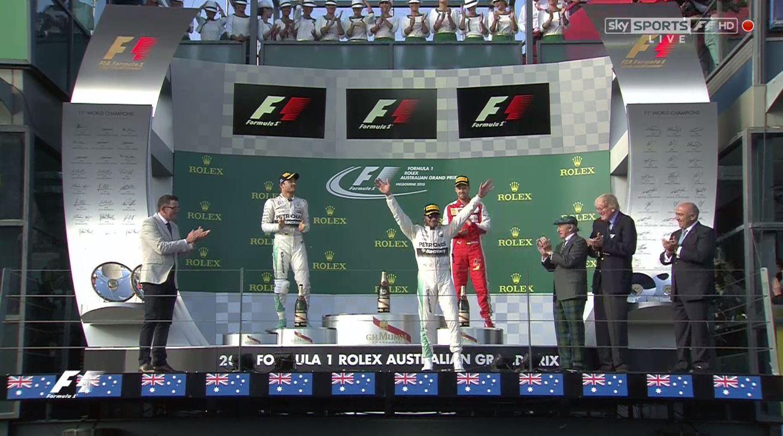 Forma-1: Hamilton nyerte a szezon első nagydíját