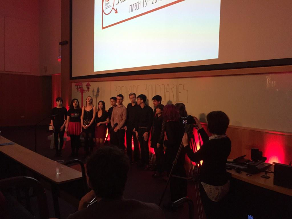 choir at #tedxuon http://t.co/zv1CvPbfZE