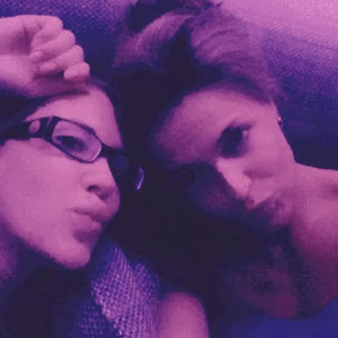 DANKE für den tollen Tag meine liebe Freundin <3 #girlpower #friends #strongwomen #girlswithmuscle #sexy