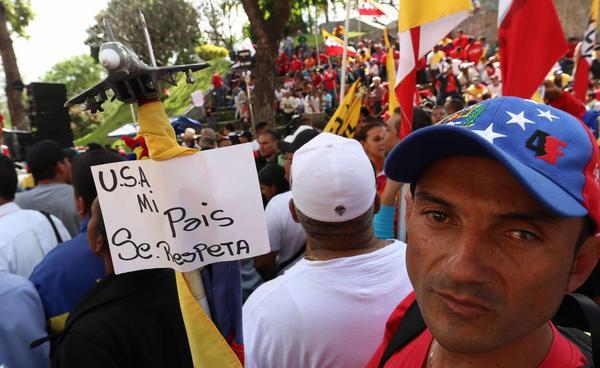 Venezolanos desaprueban sanciones e injerencia de EE.UU.