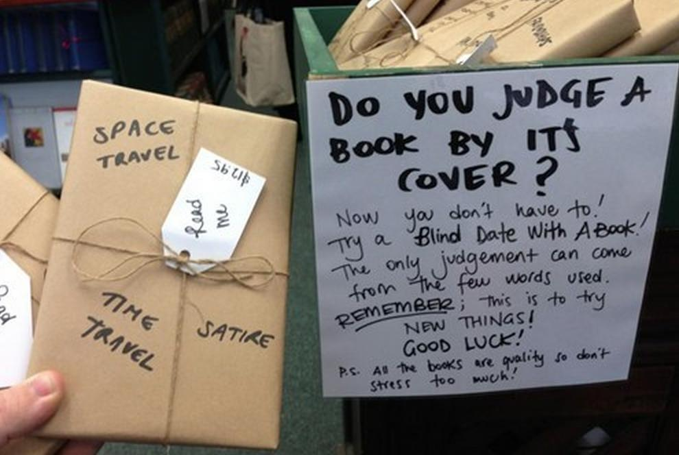 Basic White Chick On Twitter A Book Store Where Books Are Wrapped