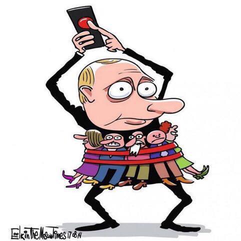 """""""Россия перекраивает карту Европы по своим правилам"""": В ЕС прокомментировали признания Путина по захвату Крыма - Цензор.НЕТ 3206"""