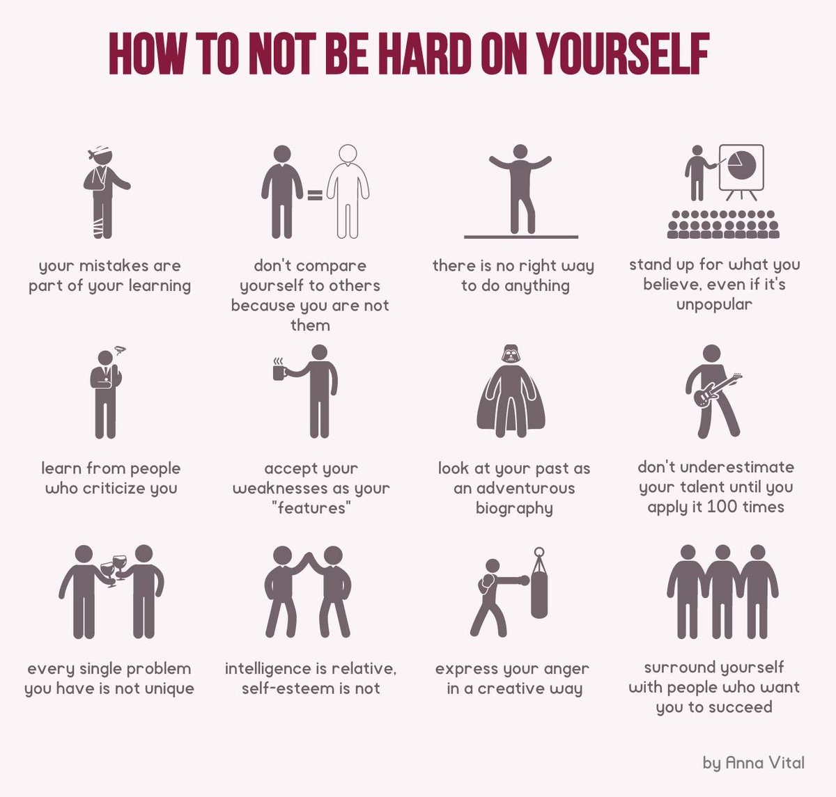 How to not be hard on yourself #ThoughtsVisualized http://t.co/2KpQ1geeAa