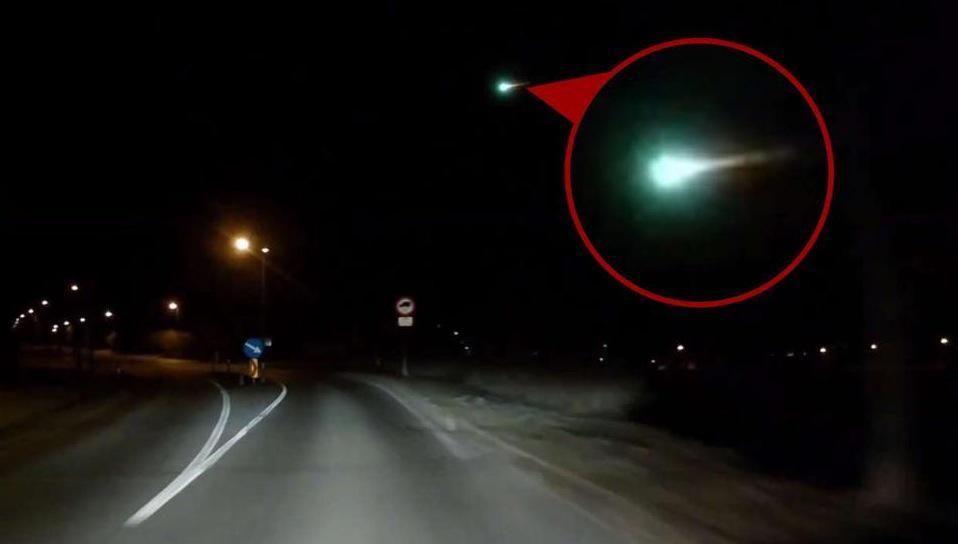 Meteorite cade vicino Zurigo in Svizzera, le immagini in un filmato YouTube
