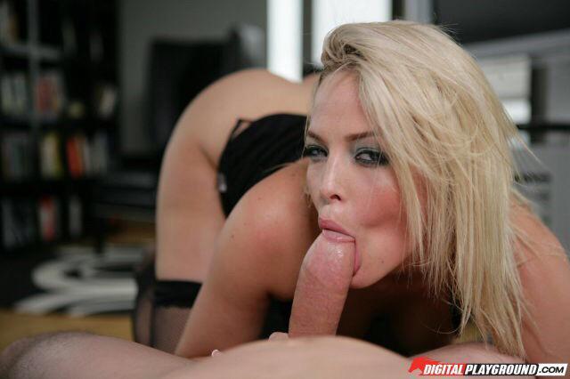 Cute Sasha Rose Cock Sucking