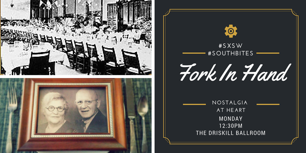 Shortest route to <3 = thru the stomach.  Join us TODAY #SXSW Driskill 12:30pm http://t.co/s2iptVBE8e #southbites http://t.co/j74etU9RmD