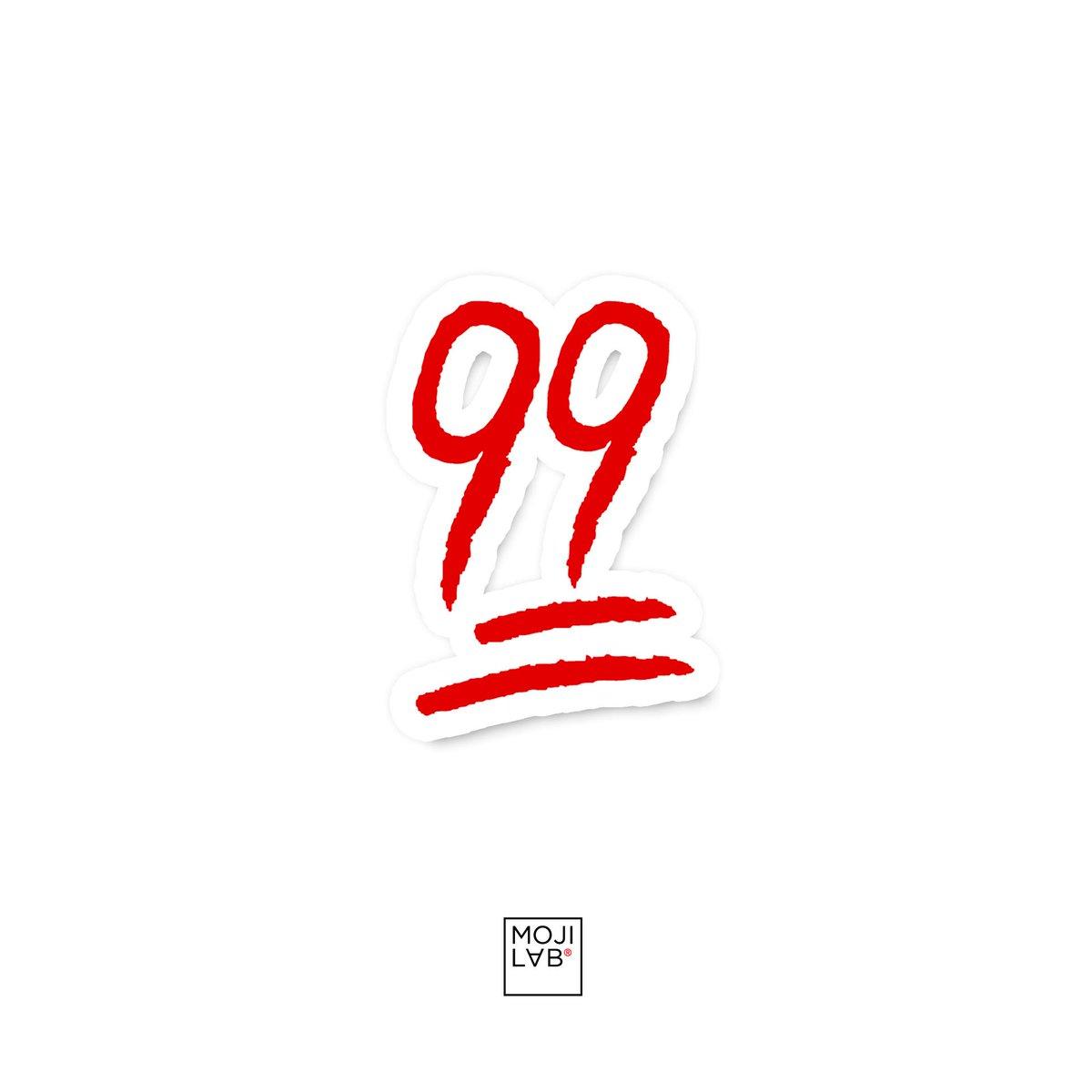 Mojilab On Twitter Mojilab Presents The 99 Emoji When 100 Is