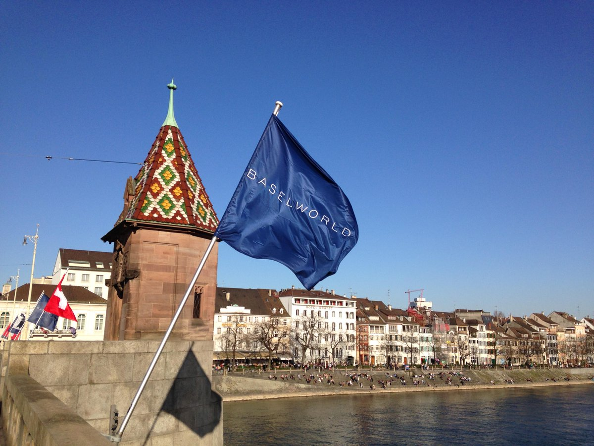 Basel is gearing up for #Baselworld 2015. http://t.co/VvNWn8hcHG