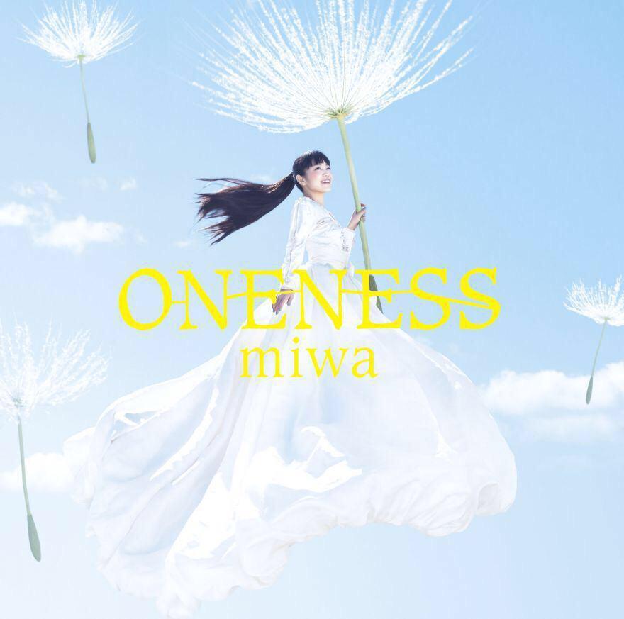4月8日発売のMIWAちゃんのアルバム「ONENESS」のアートワークしました。巨大タンポポ綿毛実際つくりました。かなり強風の日に海辺の公園で高い位置で撮影しました。カメラマンは内田将ニさんです。 http://t.co/34twCHj40R