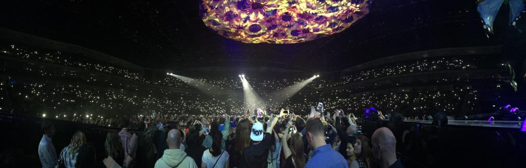 """✨ """"Don't Cry Because It's Over, Smile Because It Happened."""" Prismatic World Tour Europe ✨ http://t.co/jMOUF5LsCO"""