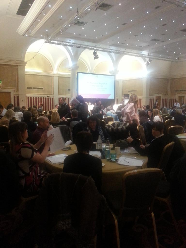 Energy building as guests arrive to our Falls summit event #t1noefs @Improve_Academy http://t.co/Da1eaq2iFt