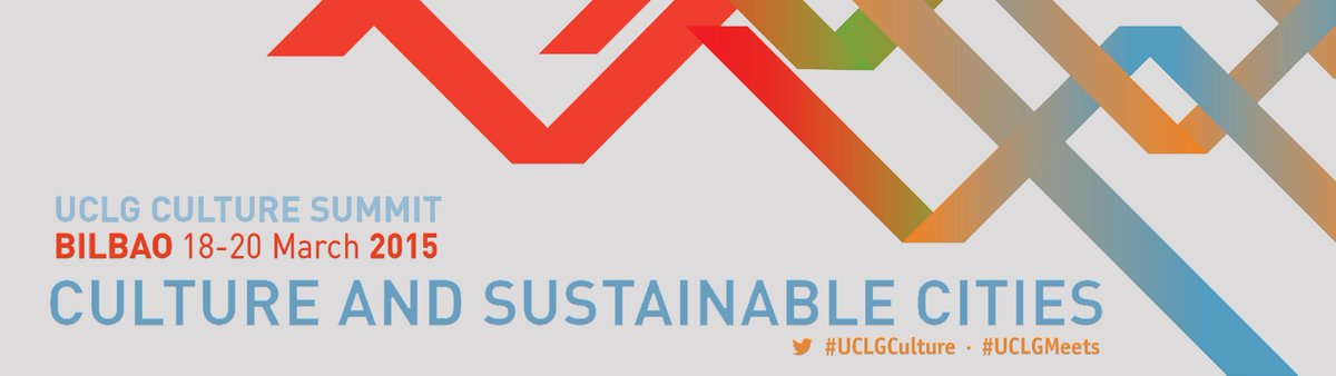Only 2 days left for the #UCLGCulture Summit in Bilbao. Ready to discuss the place of #Culture in #Post2015 agenda http://t.co/EtAUqSzYuu