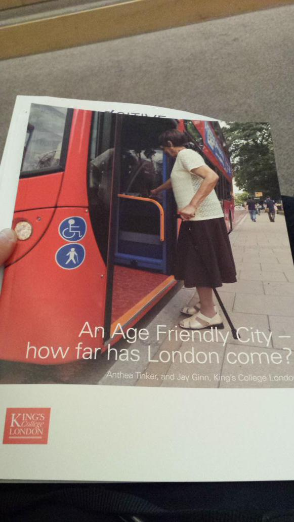 Professor Anthea Tinker from @KingsCollegeLon now introduces the report 'An Age Friendly City' #UrbanAgeing http://t.co/mNfbjvLqyT
