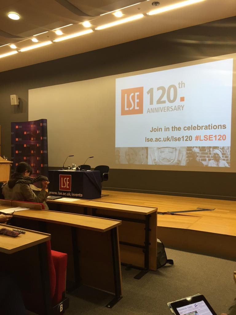 At @StudyLSE this morning for a lecture from Scotland's first minister Nicola Sturgeon #lsescotland http://t.co/0LzDzrmnbN