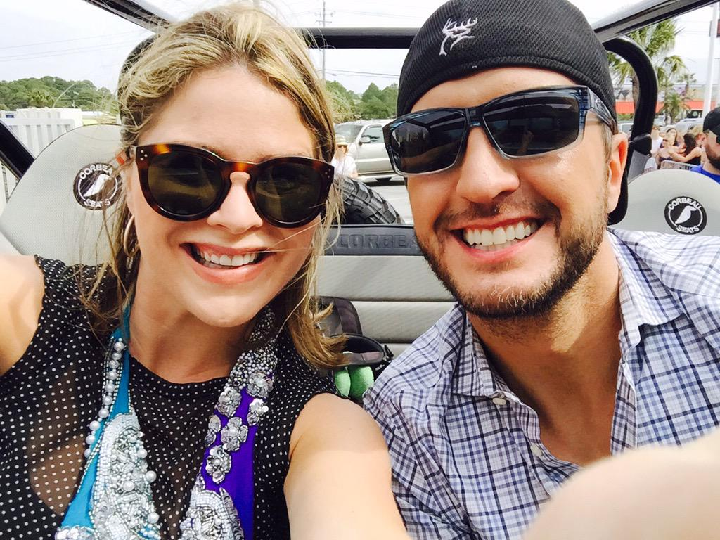 """I learned a lot from @LukeBryanOnline on his """"how-to-spring break"""". And no I'm not referring to keg stands!@TODAYshow http://t.co/NwnmIfcUgT"""