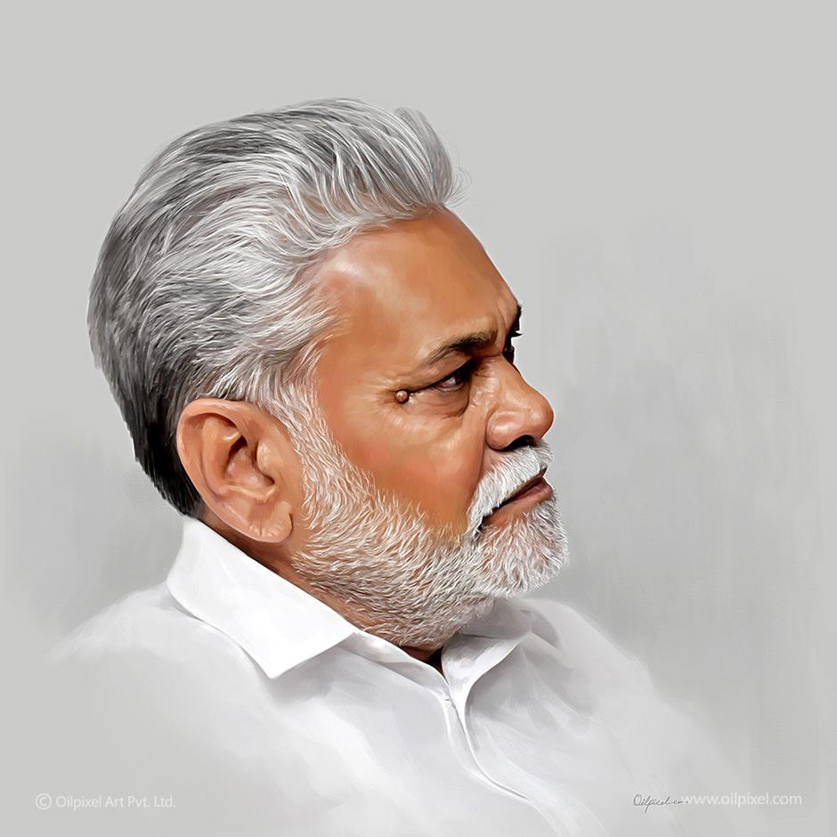 Oilpixel On Twitter Digital Portrait Painting Of Mr Purushottamrupala Created By Oilpixel Http T Co Kqbehdn8qr Art Http T Co Nnmm91jsly