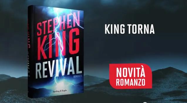"""Stephen King: da domani in libreria il nuovo romanzo """"Revival"""""""