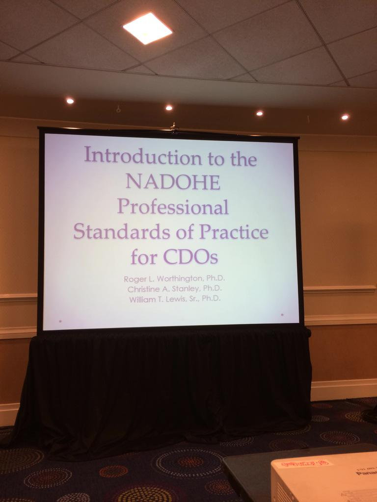 #ACEMeetDC NADOHE PSP for CDO's is a living document and evolving process! http://t.co/RCcv2zzyIM