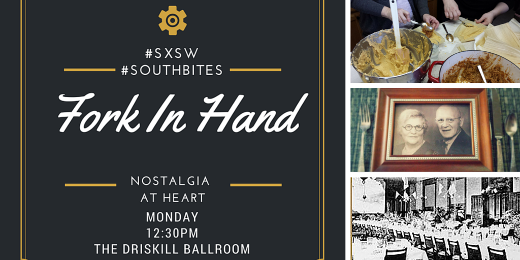 How do people connect 2 their culture w/ cooking? Plus, pre lunch foodporn! http://t.co/jqLKcbNaKH #forkinhand  #SXSW http://t.co/LWKOq6q7hj