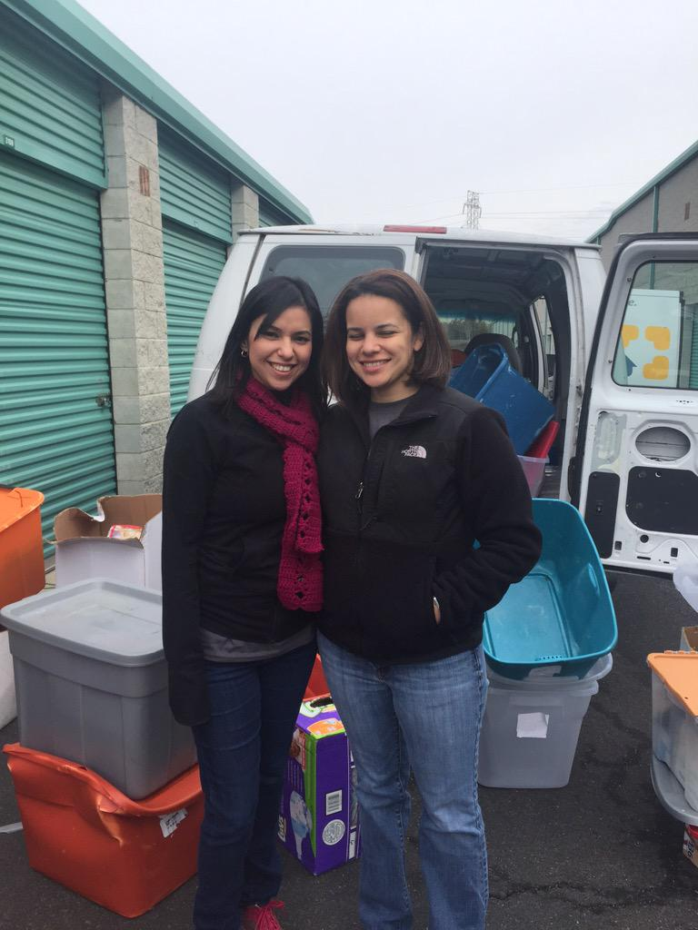 Heather Campbell, Assistant Director, with Blanca from @uwscc volunteering in VA for @united way #PoweredByU http://t.co/0zoV4aR5y2
