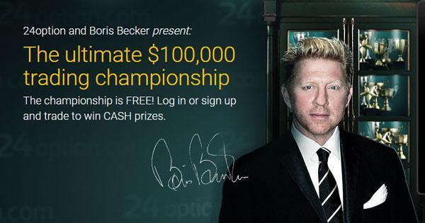 Opzioni Binarie: dopo la Juventus, 24Option sponsorizza Boris Becker